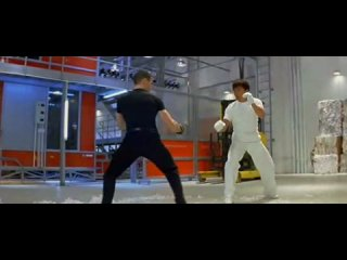 Jackie Chan vs. Bradley James Allan  �������� ������ �� ����� )